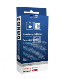 Descaling tablets for...
