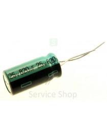 Capacitor 820uF 25V 105 °...
