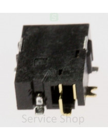 Slot 0.75mm for plug 2.5x0.9mm