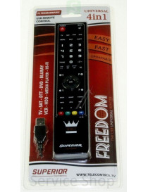 Remote control for 4-IN-1...