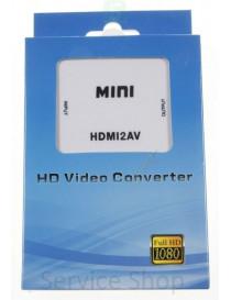 Converter HDMI to AV COM