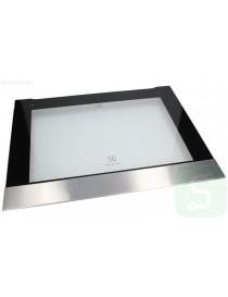 Oven door glass AEG...