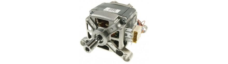 Washer motors, pulleys